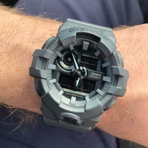 G-Shock Ana-Digi Resin Gray Watch